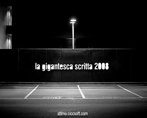 Le canzoni del 2008 di Attimo