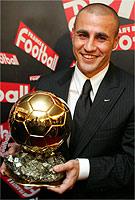 Cannavaro Pallone d'Oro 2006