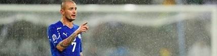Simone Pepe contro il Paraguay
